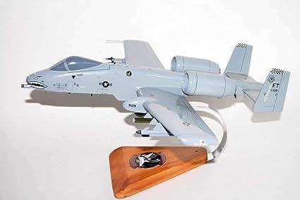 Amer Com USAF Fairchild A-10A Thunderbolt Shark Painting 1//100 Diecast Model