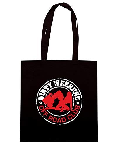 Speed Shirt Borsa Shopper Nera TB0197 SALE WEEKEND TOUT TERRAIN CLUB VINTAGE