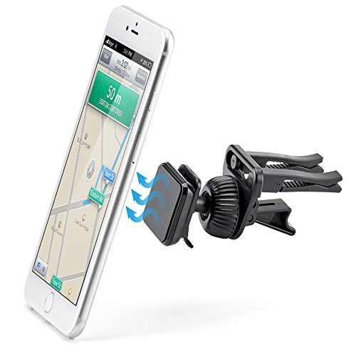 Magnetic Air Vent Mount - iKross Smartphone Air - Cell Phone Cushion Holder