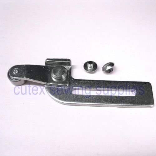 Cutex Sewing Swing Away Roller Guide for Sewing Machine with Screws Short Arm 11mm Roller