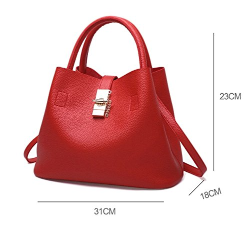 Bag Style Wallet Red For Women Ouvin 5x4Bw47q