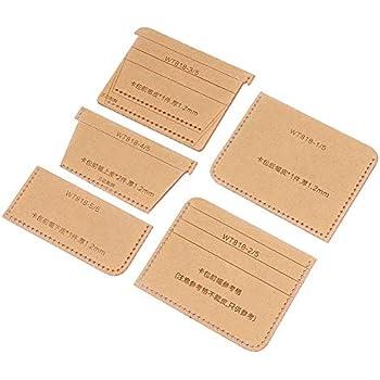 Portatarjetas Mini Card Case Template Acrilico Leathercraft Pattern Tool WT818