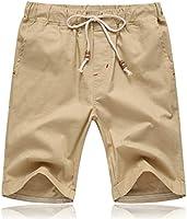 Tansozer Mens Summer Casual Shorts with Pockets Elasticated Waist