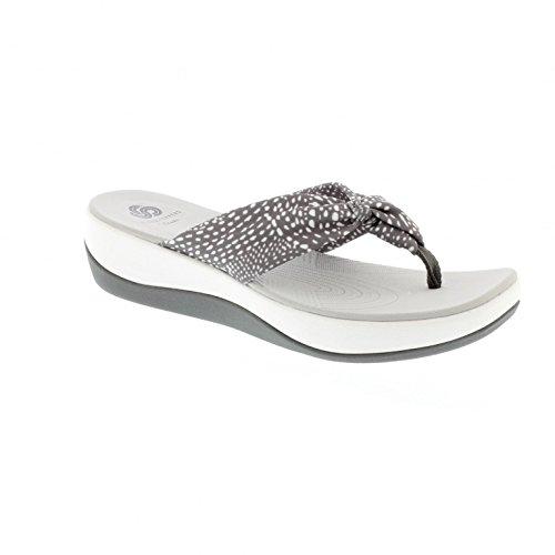 clarks-arla-glison-grey-combi-textile-womens-sandals-8-us
