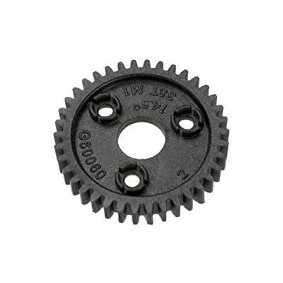 Traxxas 3954 38-T Spur Gear, 1.0 metric pitch: Toys & Games