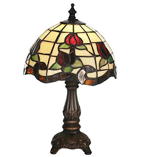 "Meyda Tiffany 19189 Lighting 11.5"" Height Finish: Beige Burgundy Xag from Meyda Tiffany"