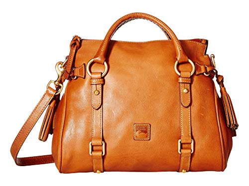- Dooney & Bourke Florentine Small Satchel, Natural Trim