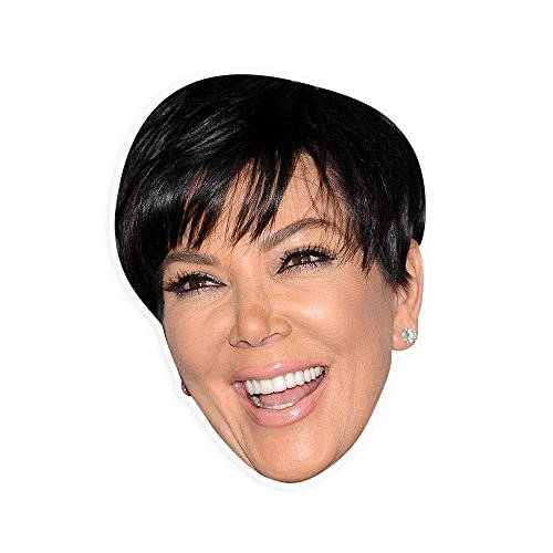 Excited Kris Jenner Mask   Perfect For Halloween  Masquerade  Parties  Events  Festivals  Concerts   Jumbo Size Waterproof