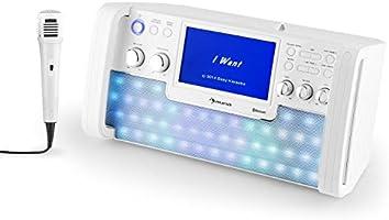 auna DiscoFever LED • karaoke • Set de karaoke • Bluetooth ... 55e317bfcfc
