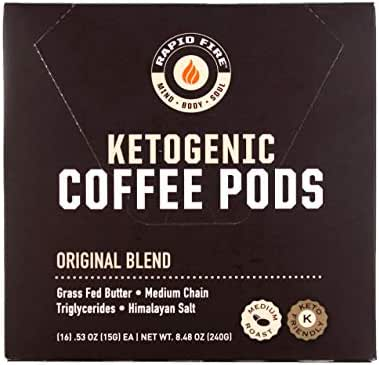 Coffee Pods: Rapid Fire Ketogenic