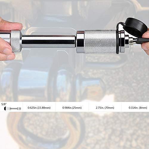 GOHAWKTEQ C-Lock Heavy Duty Locking 1//2 Inch Hitch Pin 5559003345