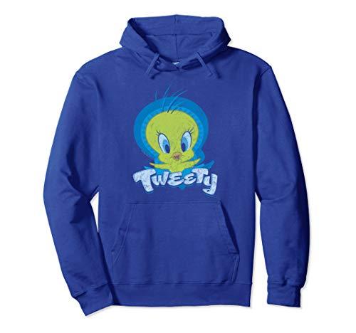 (Looney Tunes Tweety Swirl Pullover Hoodie)
