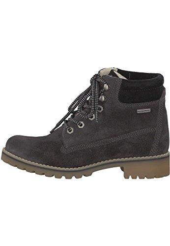 Tamaris Derb- elegant Oxfords Boots Boots Beige Yellow 1-25242-27 617 Corn Nubuc Anthracite/Black 8c5WN5Has9