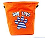 DEI Dog Toys Storage Basket, Orange
