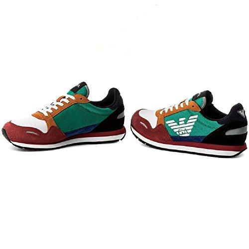 Estate Armani Emporio XL200 Primavera Uomo Sneakers Multicolor X4X215 Sf1wPpq