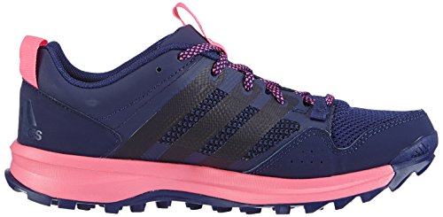 adidas Kanadia 7 Trail - Zapatillas de deporte para mujer Morado (Night Sky/Night Sky/Solar Pink)