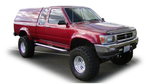 Bushwacker Toyota Extend-A-Fender Flare Set of - Fender Flares Pickup Truck
