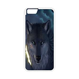 "C-Y-F-CASE DIY Design Howling Wild Wolf Pattern Phone Case For iPhone 6 (4.7"")"