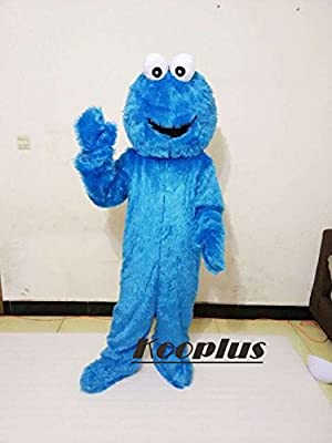 Adult Cookie Monster Mascot Costume Cartoon Costume