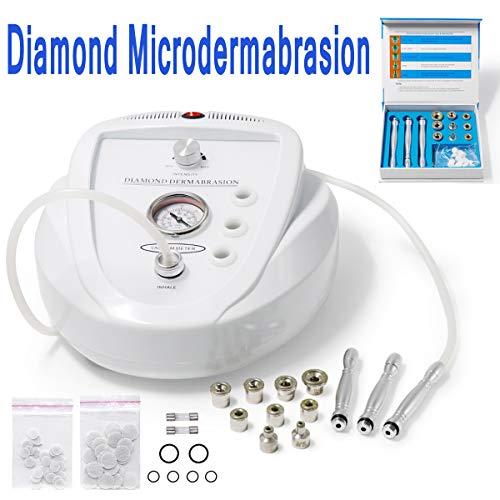 Carer Professional Diamond Microdermabrasion Machine Skin Peeling Rejuvenation Face Lift Skin Tightening Beauty Device Suitable for Home or Salon Use