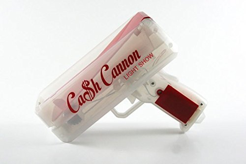 The Cash Cannon Light Show. Every Man's Dream Toy. Red.