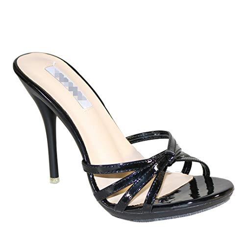 Women's Shoes PU(Polyurethane) Summer Slingback Sandals Stiletto Heel Open Toe Light Blue/Light Green/Nude,B,US6.5~7/EU37/UK4.5~5/CN37