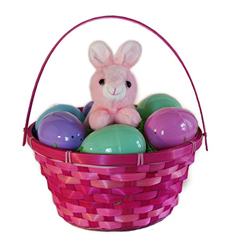 Easter Basket for Girls Easter Egg Hunt - make Easter planning Quick and Easy with this convenient Easter basket bundle