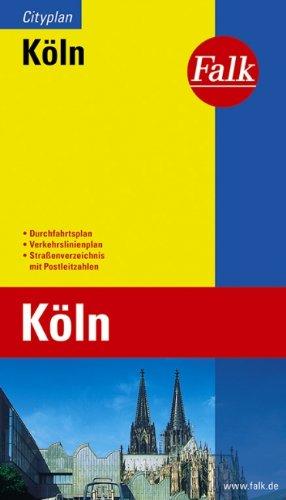 Cologne (Köln, Germany) 1:23 000 Pocket Street Map