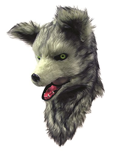 Forum Novelties 79471 Moving Mouth Mask - Wolf, One-Size, Multicolor]()