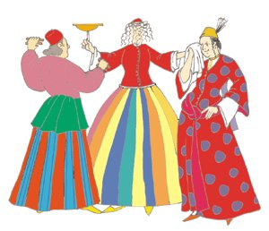 Turkish Dancer Costume (Ottoman Turkish Dancer (Male and Female) Pattern)