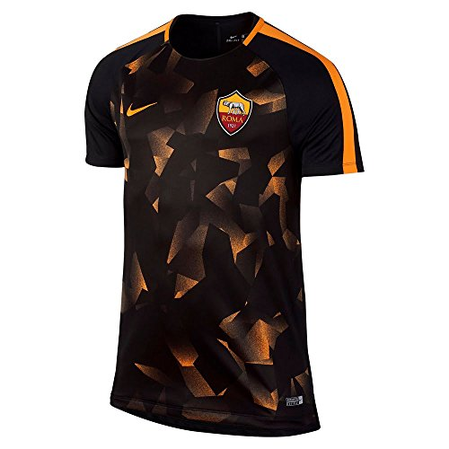 fan products of Nike Dry AS Roma Squad Football Top [BLACK] (XL)