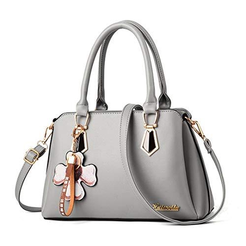 50cm da donna lunghezza di grigio spalla massima Borsa design donna per borse da a 30cm 1EOqFwnR