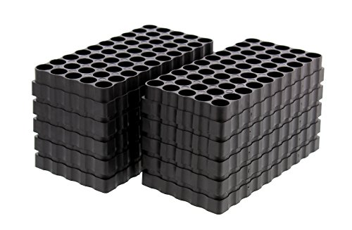 Large Caliber 50 Round Universal Reloading Ammo Tray Loading Blocks 10-Pack