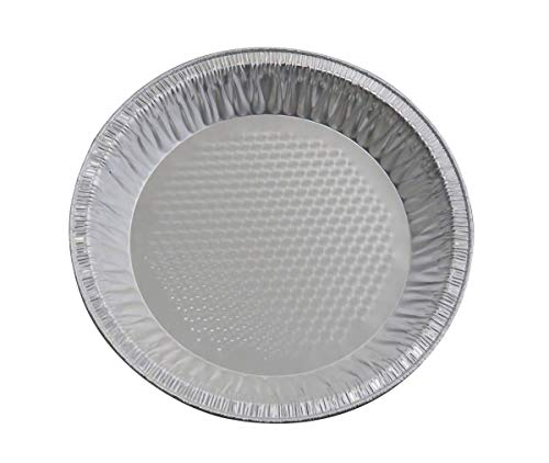 (KitchenDance Disposable Aluminum Quilted Bottom Pie Pans (50, 9-5/8