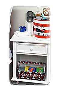 For Galaxy Case, High Quality Boy8217s White Nightstand And Nautical-themed Accents For Galaxy Note 3 Cover Cases