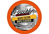 Brooklyn Beans Maple Sleigh Coffee Pods for Keurig K Cups Coffee Maker, 40 Count