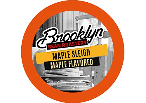 (Brooklyn Beans Maple Sleigh Coffee Pods, Compatible with 2.0 K-Cup Brewers, 40 Count)