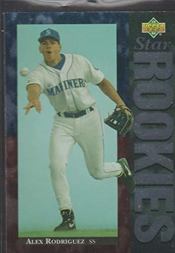 1994 Upper Deck Alex Rodriguez Mariners Star Rookie Baseball Card #24 1994 Baseball All Star Game