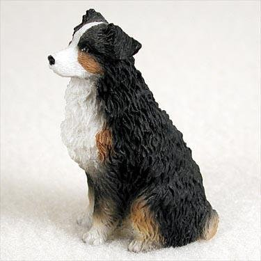 Australian Shepherd Tricolor Docked Tiny Ones Dog (Australian Shepherd Figurine)