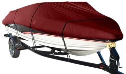 Eevelle Wake Monsoon Series Model B Boat Cover (Red, Fits...