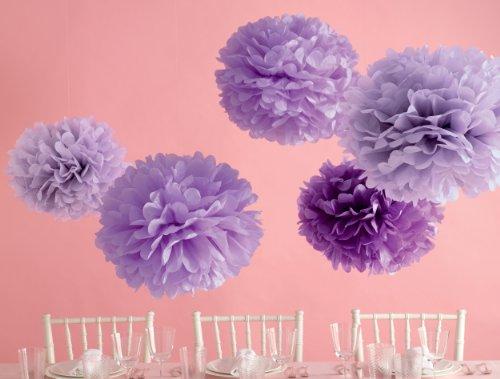 Martha Stewart Crafts Pom Poms, Purple