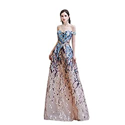 As Picture Long Sequin Mermaid Dress