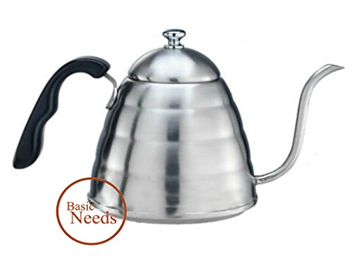 Basic Needs Pour Over Coffee Pot Drip Ke - Handle Swan Neck Shopping Results