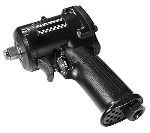 Mueller-Kueps EQ-294 112 Black 1 2 Ultra Short Impact Wrench XS