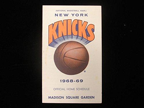 New York Knicks Schedule - 1968-69 New York Knicks Basketball Schedule