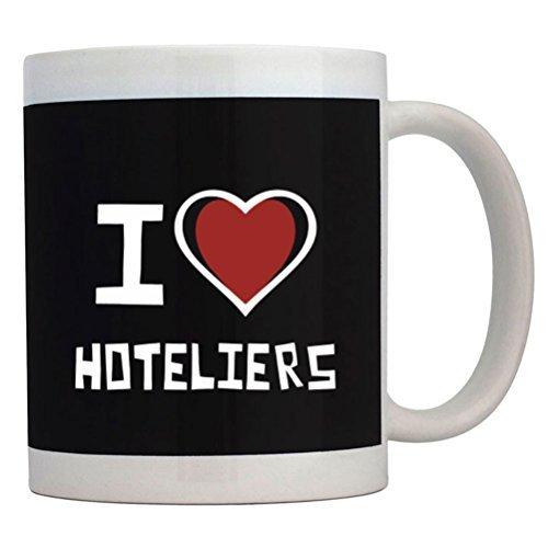 Fuuny Coffee Mugs I love Hotelier Mug ()