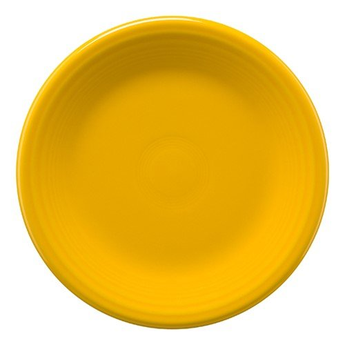 Homer Laughlin 464-342 Fiesta 7 1/4'' Salad Plate, Daffodil