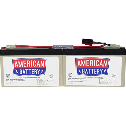Abc Ups Replacement Battery - RBC18 UPS Replacement Battery  for APC By American Battery