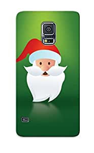 Cryogenhai McDQmAL1000FbNkR Reef Case Cover Galaxy S5 Protective Reef Case Greenantas Head( Best Gift For Friends)
