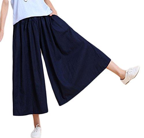 c340d4d87d Zeagoo Women's Super Comfy Stripe Flowy Wide Leg High Waist Belted Palazzo  Pants Capris,Black,Small, 8.5 · GET ON AMAZON · 9 · Soojun Women